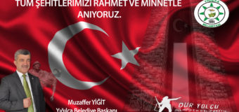 BAŞKAN YİĞİT'İN 18 MART ÇANAKKALE ZAFERİ MESAJI.