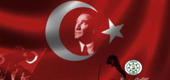 Başkan Çam'ın 29 Ekim Cumhuriyet Bayramı Mesajı